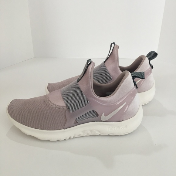 a240e11bc2 Nike Renew Freedom Purple Slip-on Running Shoe